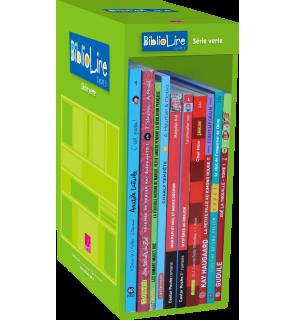 Bibliolire série verte niveau 1 - 10 ouvrages