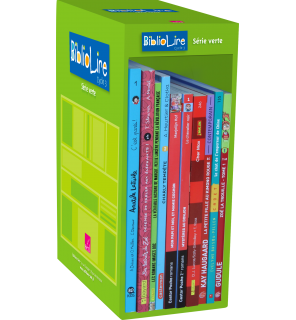 Bibliolire série verte niveau 2 - 10 ouvrages
