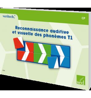 Reconnaissance auditive et visuelle des phonèmes T1 CP