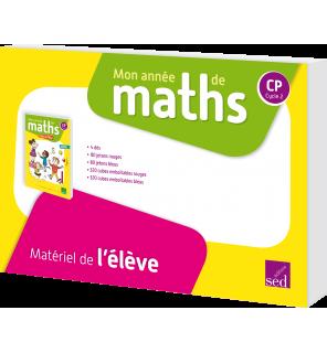 Mon année de maths CP - Matériel de l'élève (pour 8 élèves)