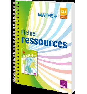 Maths + CE1 - Fichier ressources (Éd. 2017)