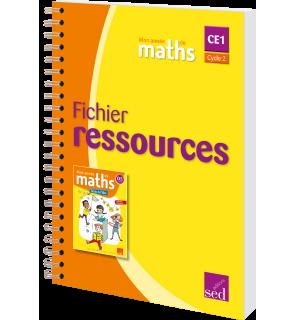 Mon année de maths CE1 - Fichier ressources