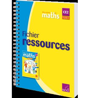 Mon année de maths CE2 - Fichier ressources