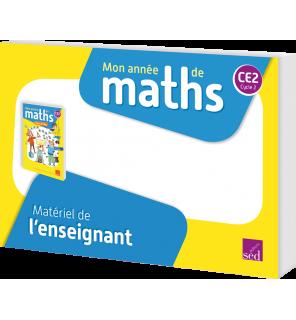 Mon année de maths CE2 - Matériel de l'enseignant