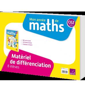 Mon année de maths CM1 - Matériel de numération pour 8 élèves