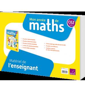 Mon année de maths CM1 - Matériel enseignant