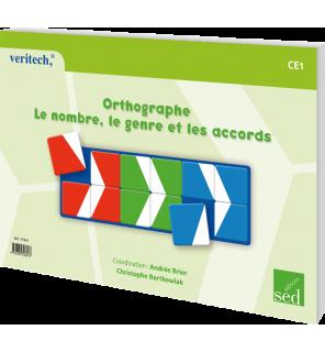 Orthographe CE1 - Le nombre, le genre et les accords