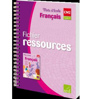 Mots d'école CM2 - Fichier ressources