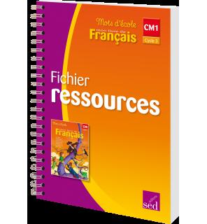 Mots d'Ecole CM1 - Fichier ressources
