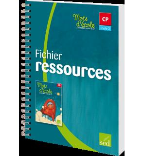 Mots d'Ecole CP - Fichier Ressources