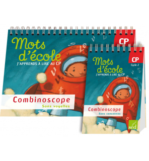 Mots d'Ecole CP - Combinoscope collectif
