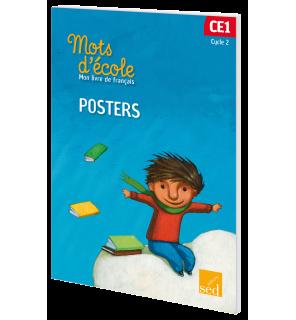Mots d'Ecole CE1 - Pochette de Posters