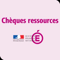 Chèque ressources