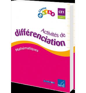 Classe Maths CE1 - Classeur d'activités de différenciation