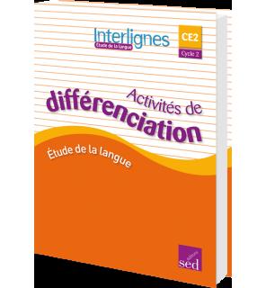 Interlignes CE2 - Classeur d'activités de différenciation (Éd. 2016)