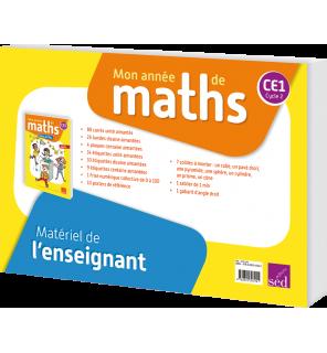 Mon année de maths CE1 - Matériel de l'enseignant