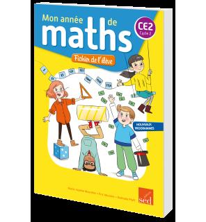 Mon année de maths CE2 - Fichier de l'élève